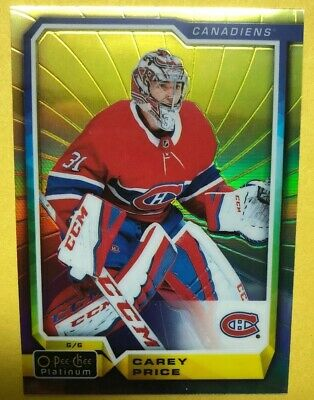 2018-19 OPC Platinum Rainbow Color Wheel #15 Carey Price Montreal Canadiens