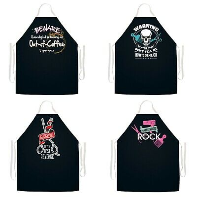 Hair Stylist Apron Adjustable Hairdresser Hair Color Salon Barber Apron Smock