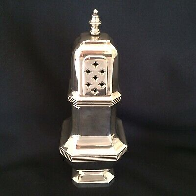 Vintage In Antique Style  Large  Silver Plated Sugar Sifter Shake