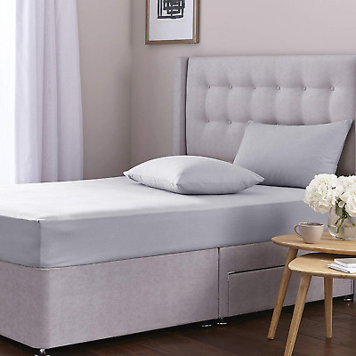 SILENTNIGHT SIMPLY COOL KING SIZE DEEP FITTED BED SHEET BOTTOM SHEET 200 COUNT