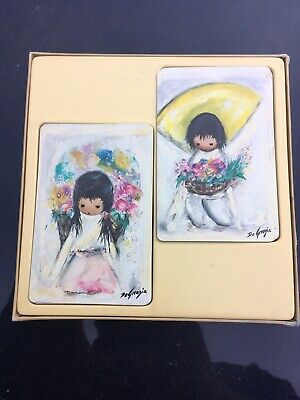 DeGrazia Playing Cards, Two Decks