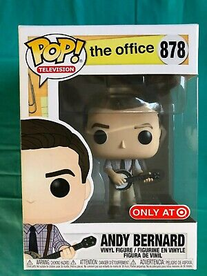 NEW Funko Pop The Office Andy Bernard Banjo Target Exclusive #878 - MINT!!!!