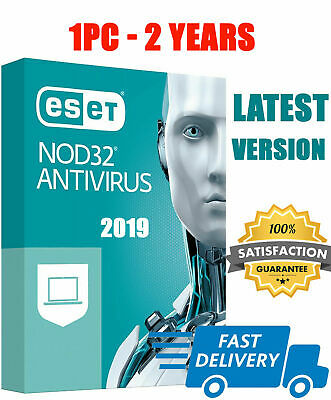 Eset NOD 32 Antivirus 2019 Original 1 Pc 2 Year 🔑 Global Key✔ For  Win MAC✔