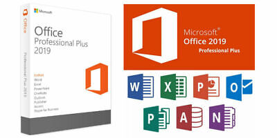 MICROSOFT OFFICE 2019 PROFESSIONAL PLUS for Single User