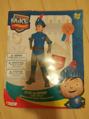 Child Toddler TV Show Nick Jr Mike the Knight Deluxe Medieval Warrior Costume