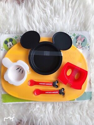 Disney Baby Lunch Plate Mickey Mouse Icon