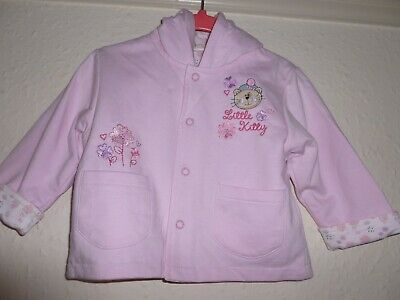 Girls Togs by Teddy Pink Hooded  Jacket 6-12 Months new