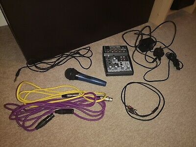 Music recording equipment beringer xenyx 502 plus more everything to get started