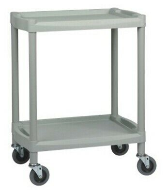 Two Shelf Durable ABS Utility Trolley