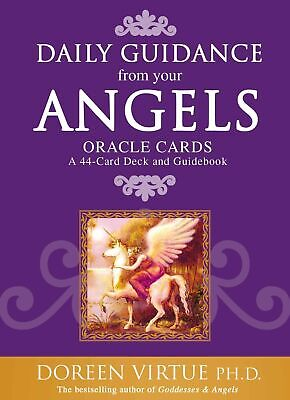 NEW BOOK Daily Guidance From Your Angels Oracle Cards: A 44-Card DeckAnd by Virt
