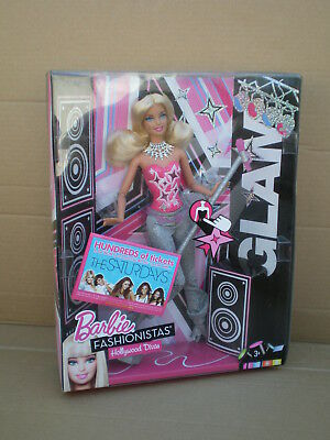 Barbie Fashionistas Jointed Hollywood Divas Glam Singer Doll 2010 Mattel BNIB