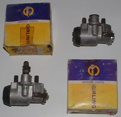 Datsun Cherry 100a Front Left Wheel Drum Brake Slave Cylinders Girling Tokico