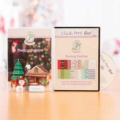Cutting Craftorium Feeling Festive USB and CD ROM
