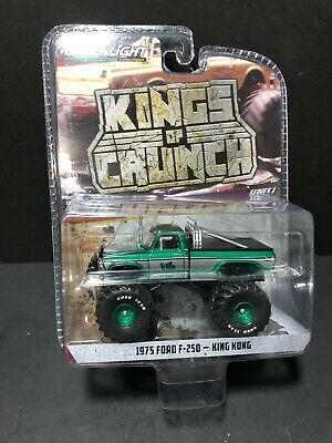 Greenlight Kings Of Crunch Series 1 Ford F-250 King Kong Green Machine Chase