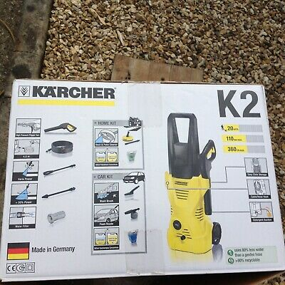 Karcher K2 Full Control 1400W 110 Bar Car & Home Pressure Washer With Patio head