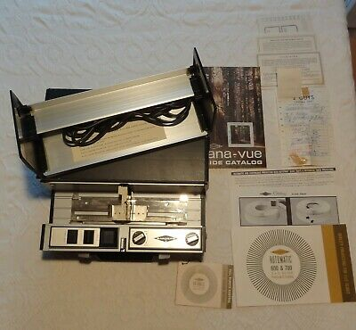 SAWYER Rotomatic Slide Projector 700 - Cycle Timer - 7 Trays
