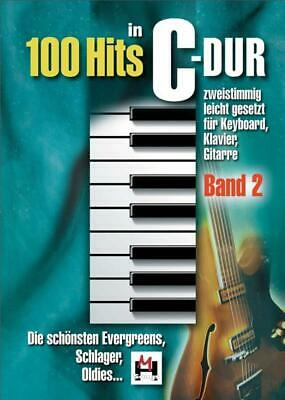 100 Hits In C-Dur: Band 2 Piano Vocal Guitar Pop & Rock Present MUSIC BOOK
