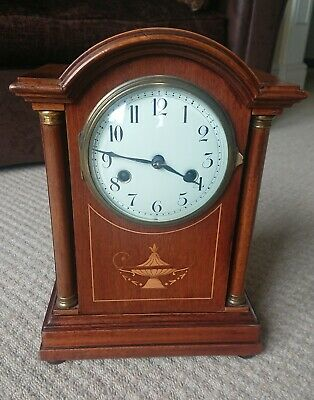 Antique Hamburg American H.A.C Mantle Clock