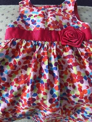 STUNNING TED BAKER GIRLS SUMMER DRESS 18/24 Months