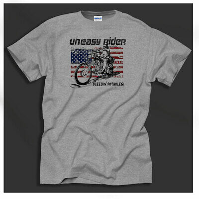 """Easy Rider /""""we wanna be free/"""" T Shirt 1969 cult movie"""