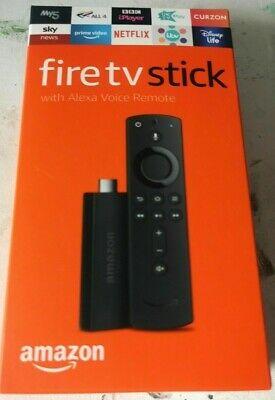 Amazon Fire TV Stick (2nd Gen) with 2nd Gen Alexa Voice Remote - Black
