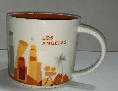 Starbucks Coffee Mug Cup 14oz You Are Here Collection Los Angeles Ceramic YAH