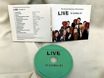 Ukulele Orchestra of Great Britain LIVE IN LONDON #1 CD