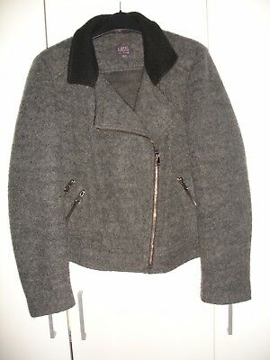 Women's Autumn Winter Wool Jacket size 14 * Ladies jacket size L from M&S