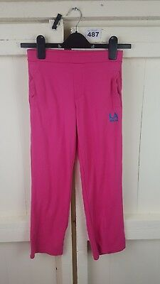 Girls Pink LA Gear Joggin Bottoms Age 9-10