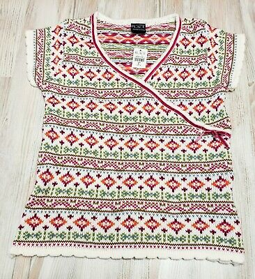 The Childrens Place Sweater Short Sleeve Top Girls Size 10 12