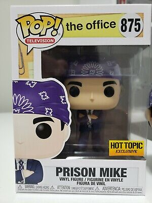 Funko POP Television THE OFFICE PRISON MIKE HOT TOPIC Exclusive (IN STOCK)