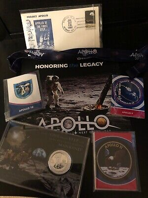 Apollo Missions, 50th Celebration Items- Rare, Coins,Collectibles- NASA