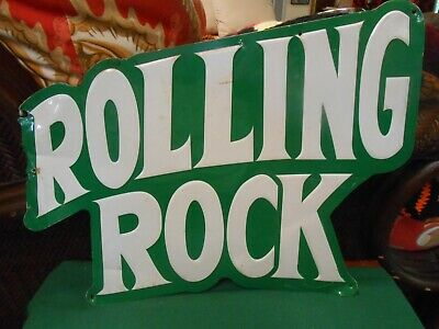 Great Tin Sign... ROLLING ROCK Beer