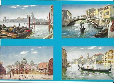 VENEZIA Lotto di 4 cartoline / Tuck / 8185