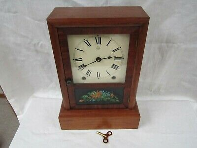Antique Seth Thomas 8 Day Chiming Mantle Clock In Overall Superb Condition