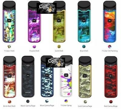 New SMOK NORD 2ml Kit All In One Pod Kit New Colours - TPD COMPLIANT