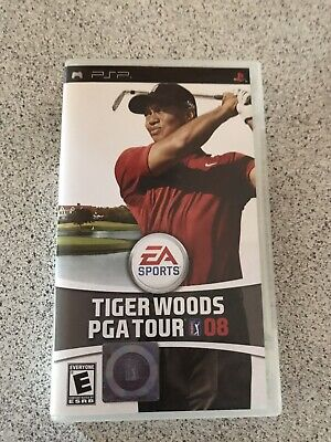 Tiger Woods PGA TOUR 08 Psp CASE ONLY