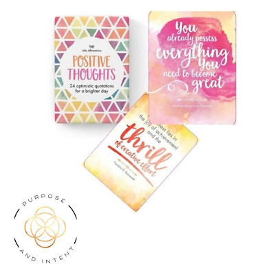 Positive Affirmation Cards The Power of Positive Thinking Daily Affirmations
