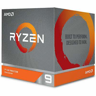 AMD Desktop CPU Ryzen 9 3900X AM4 12 Core 24 Thread 3.8 GHz 64MB Cache Processor