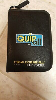 Quipall PCAJS200 Portable Charge-All / Jump Starter