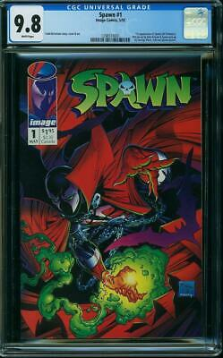 SPAWN #1 CGC 9.8 1st Appearance (Al Simmons) Todd McFarlane Story, Cover and Art