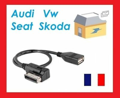 Cable Adaptateur Usb Music Interface Ami Mmi Volkswagen Tiguan Gz® Pro