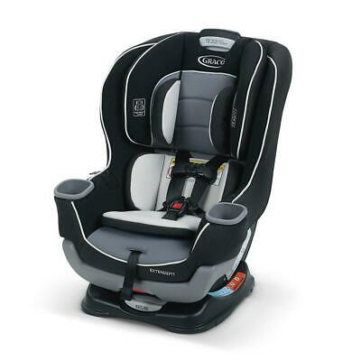 Premium Graco Extend2Fit Convertible Car Seat, Gotham
