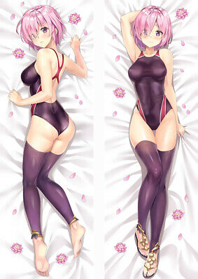 Fate Grand Order Shielder Mash Kyrielight  Pillow Case Hugging Body Cosplay
