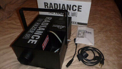 Ultratec Radiance Hazer - stage, studio, photography