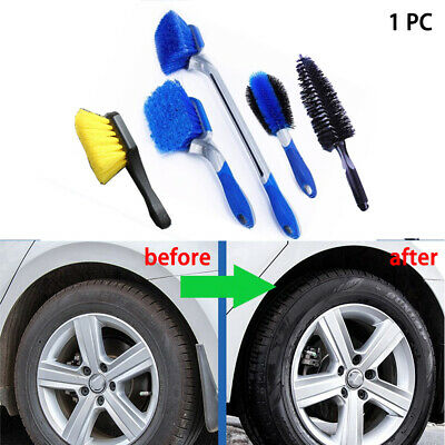 Wheel Rim Hub Car Tyre Cleaning Brush Exhaust Pipe Cleaner Wash Tool