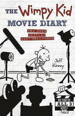 Diary of a Wimpy Kid MOVIE DIARY  Jeff Kinney Acceptable Cond