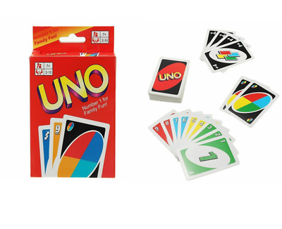 VIP Original UNO Card Game CARDS Great Family Love Friend Children Travel Party