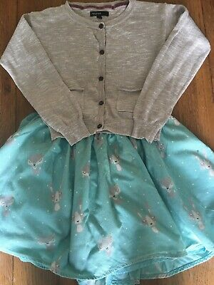 Stunning M&s skirt and cardigan outfit set 6-7
