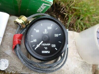 Lucas/Vdo Engine Temp Gauge Mechanical Sib422 For Jaguar/Mg/Triumph Or Kit Car